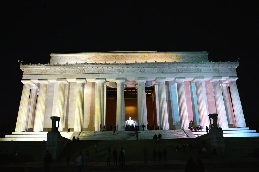 Lincoln Memorial - From Reflecting Pool Photograph by Brian OKelly