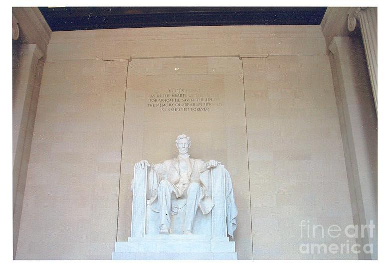 Lincoln Memorial Photograph - Lincoln Memorial by Kevin Croitz