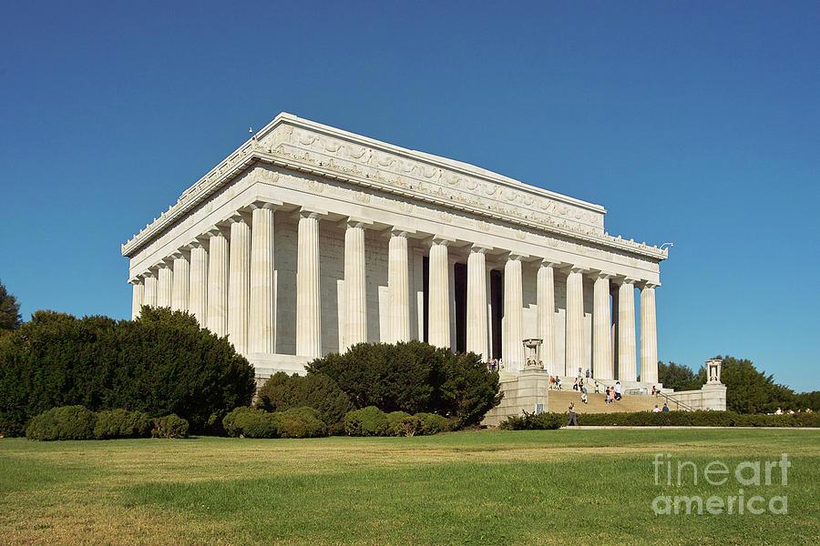Lincoln Memorial Washington Dc Photograph