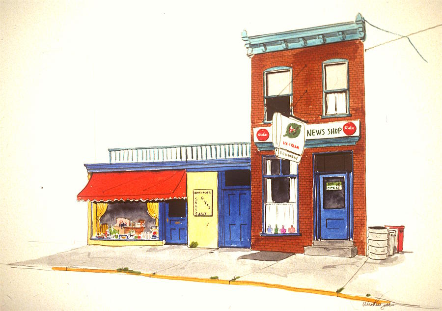 Wilmington De Painting - Lincoln News by William Renzulli