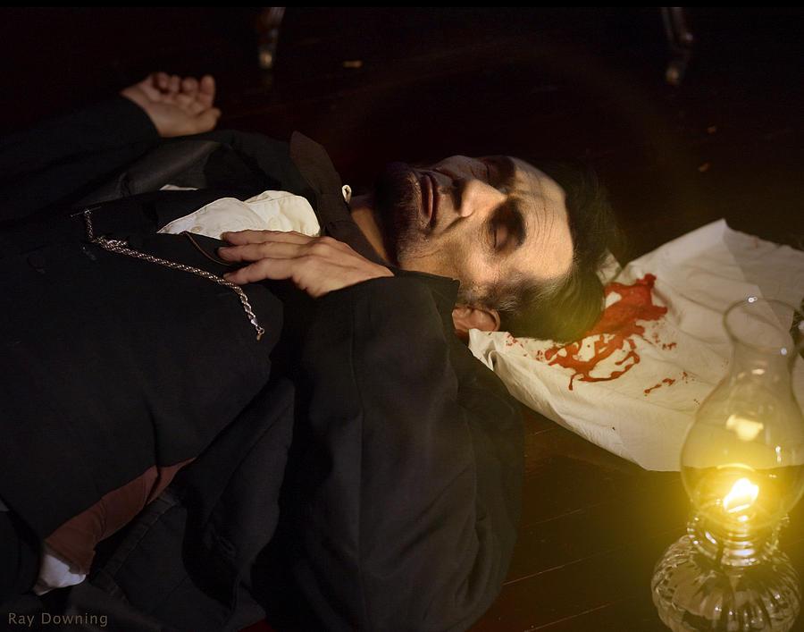 Abraham Lincoln Digital Art - Lincoln Shot 2 by Ray Downing
