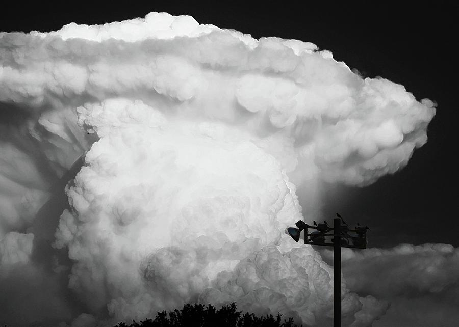 Cumulonimbus Photograph - Lincolns Profile by Scott Cordell