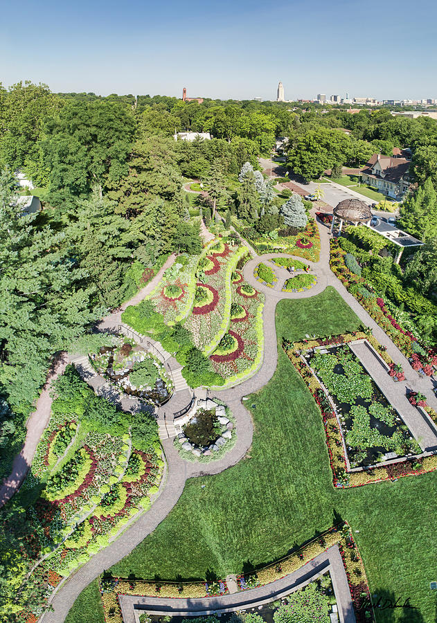 Lincoln's Sunken Gardens, 2018 by Mark Dahmke