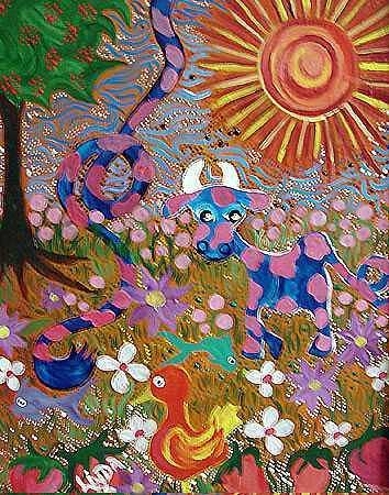 Fantasy Painting - Lindamunschauer 1 by Linda Munschauer