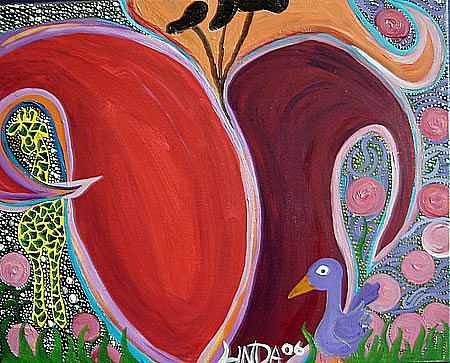 Modern Painting - Lindamunschauer 11 by Linda Munschauer