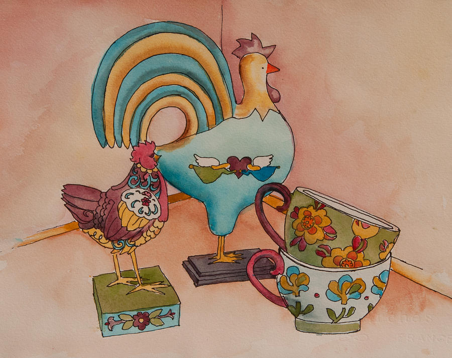 Linda's Chickens by Heidi E Nelson