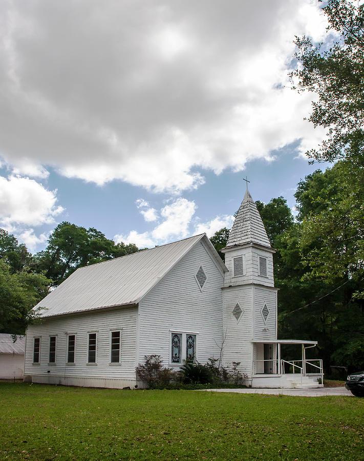 Church Photograph - Linden Religion by Norman Johnson