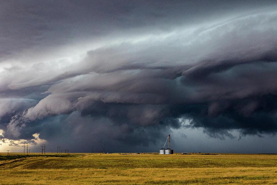 Lindon Colorado Storm Photograph by David Brown Eyes