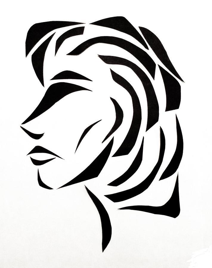Profile Mixed Media - Lindsay by Delin Colon