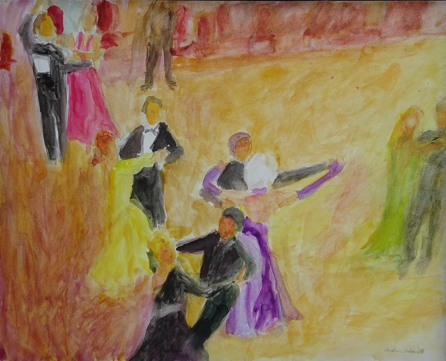 Line of Dance by Andrea Goldsmith
