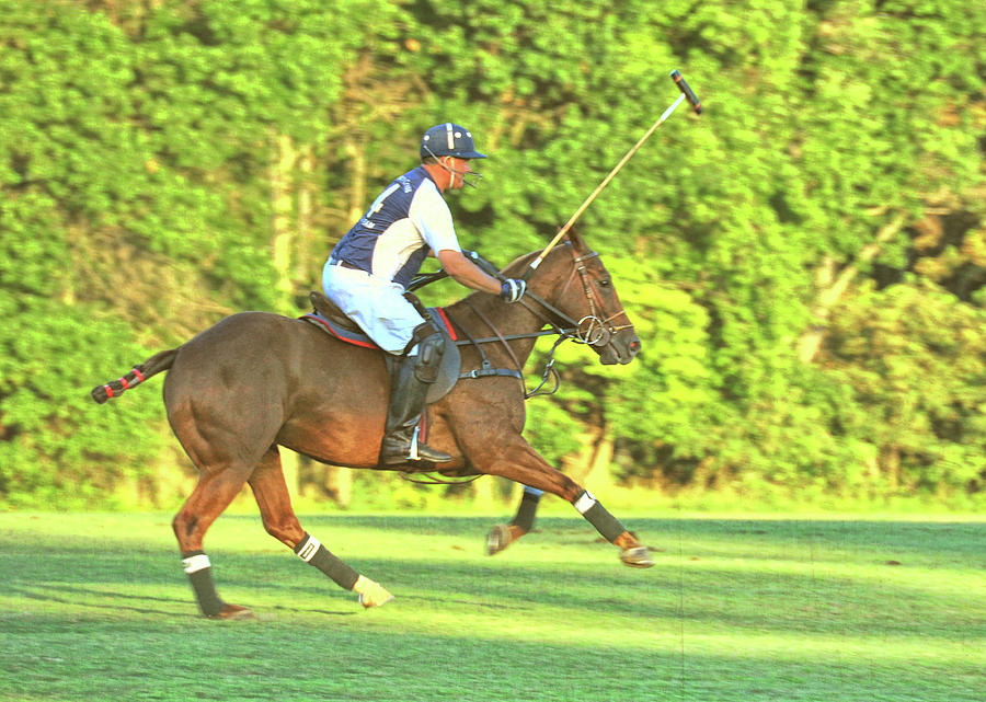 Polo Photograph - Line Of The Ball by JAMART Photography