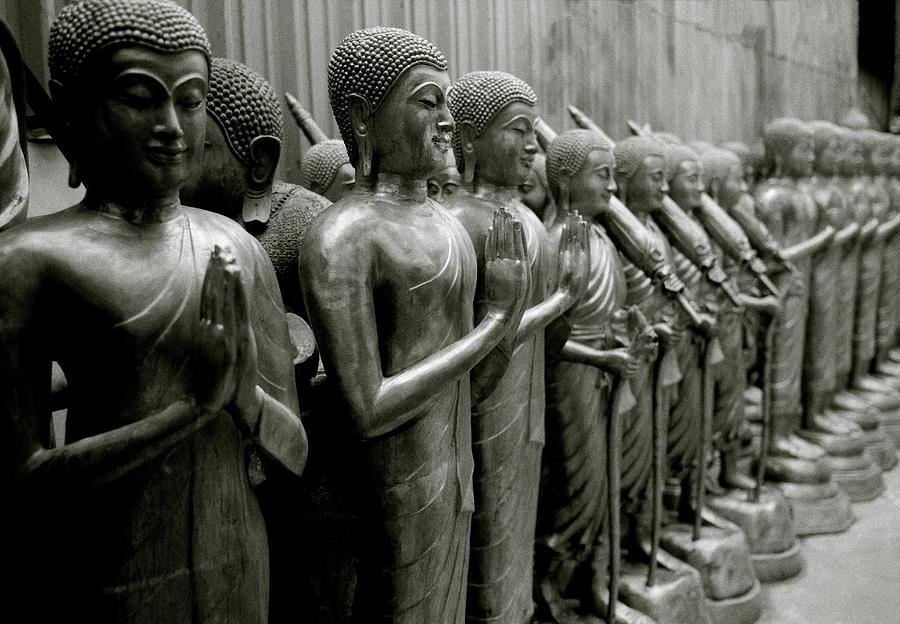 Line Of The Buddha by Shaun Higson