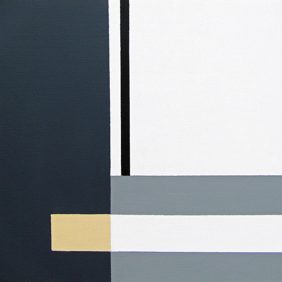 Geometric Painting - Linear 2 by Slade Roberts