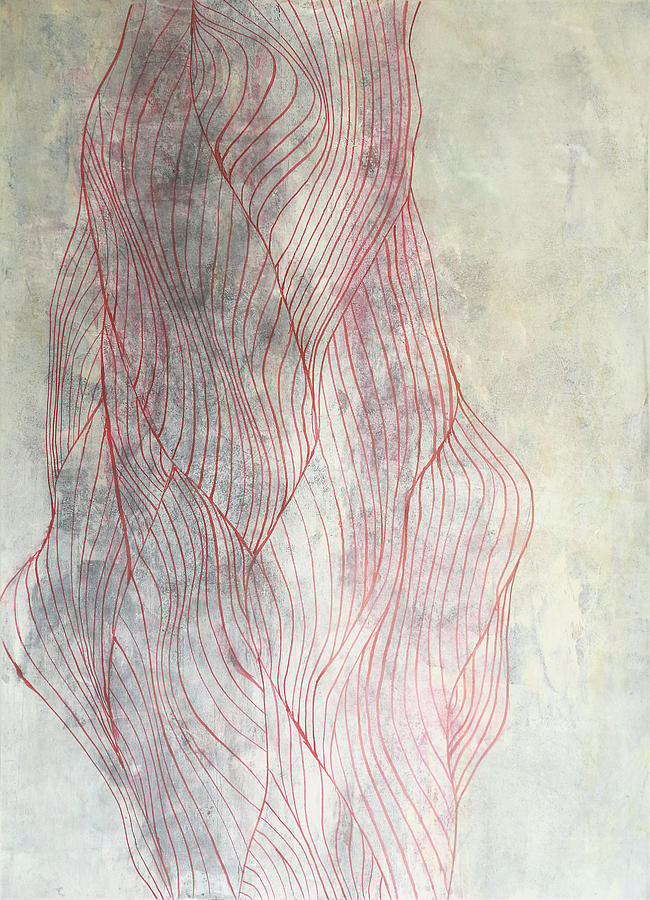 Abstract Painting - Lines 1 by Adam Laughlin