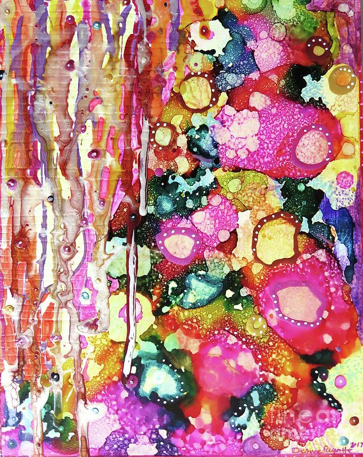 Lines and Bubbles by Desiree Paquette