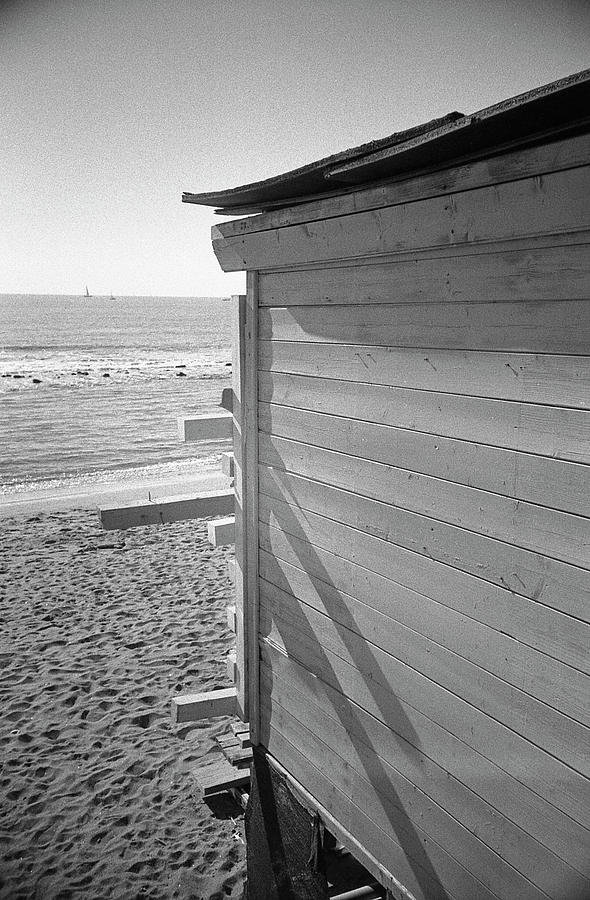 Lines Photograph - Lines in Ostia Beach by Nacho Vega