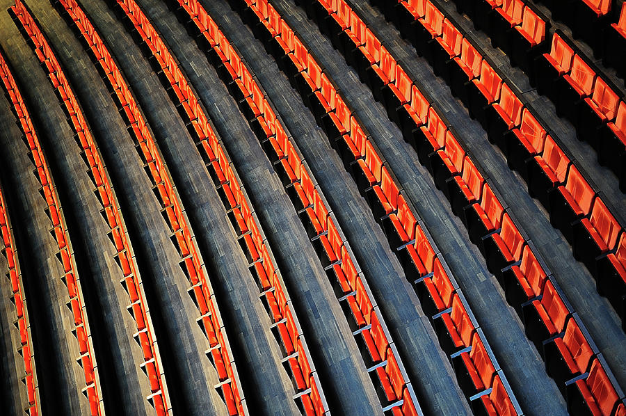 Opera Photograph - Lines by Roman Rodionov