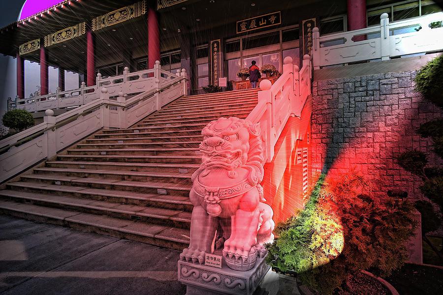 Buddhist Photograph - Lingyen Mountain Temple 31 by Lawrence Christopher