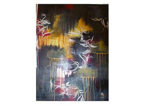 Black Painting - Linkin Park by Kristin Miller