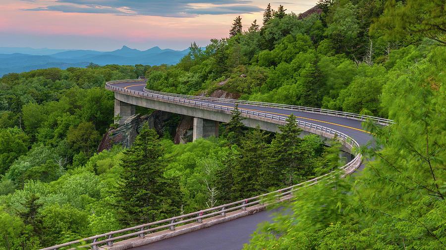Linn Cove Viaduct Photograph - Linn Cove Viaduct by Stephen Stookey