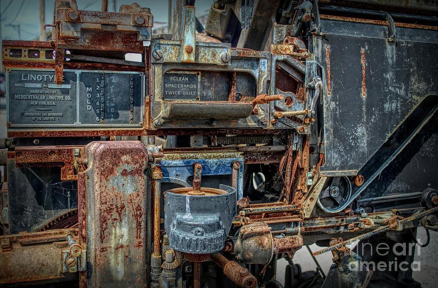 Linotype Steampunk Machine