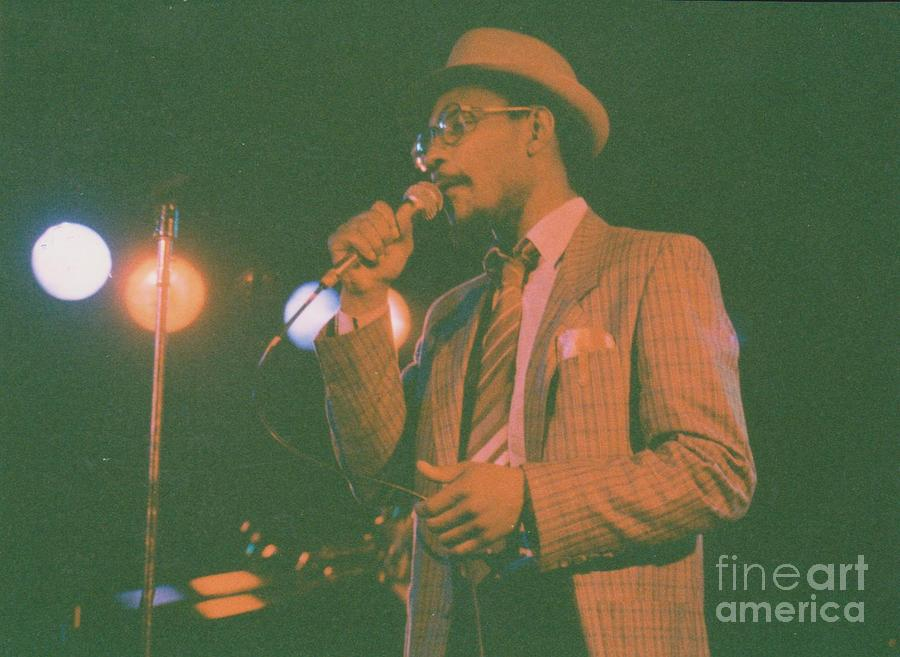 Reggae Artist Photograph - Linton Kwesi Johnson by Mia Alexander