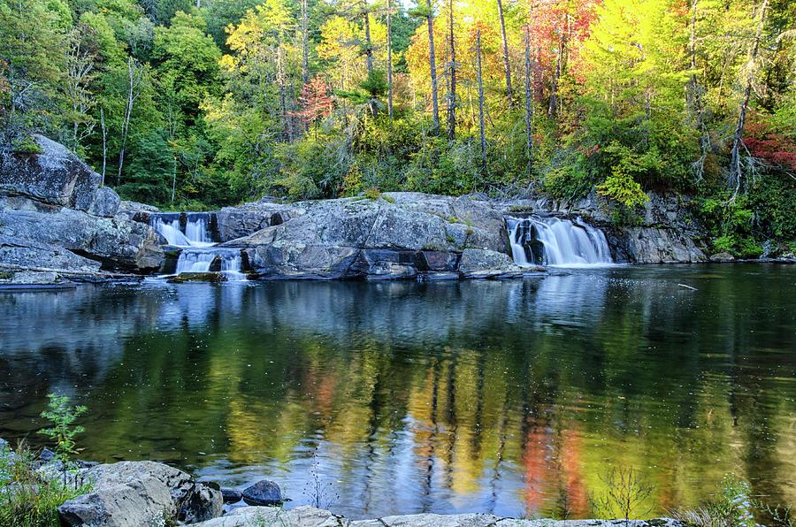 Autumn Photograph - Linville Linger Longer by Kristina Plaas