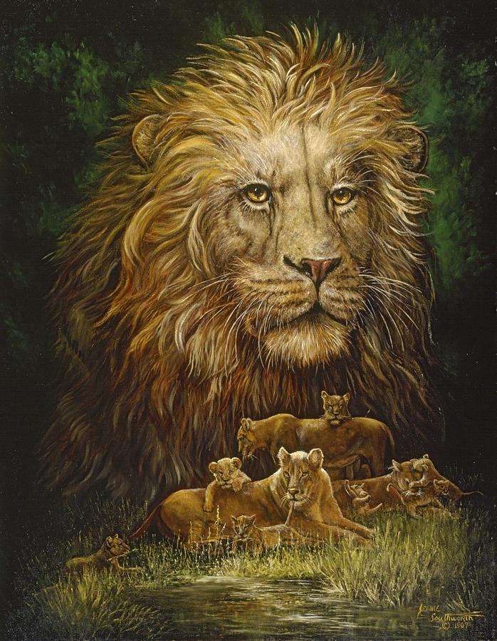 узнала картины со львами фото игру было