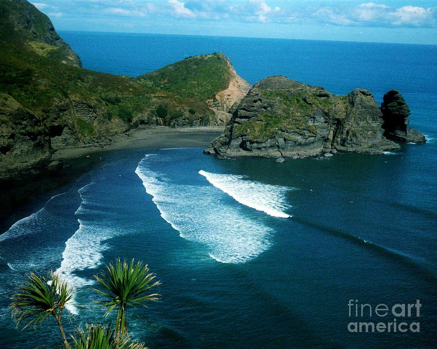 Lion Beach Piha New Zealand Photograph By Mark Dodd