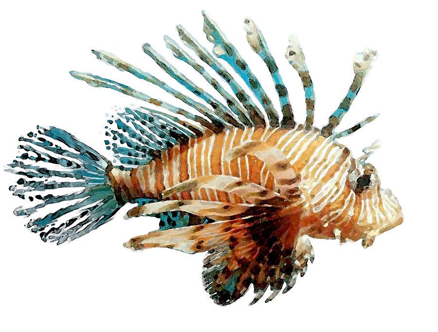 Lion Fish by Brenda Leedy