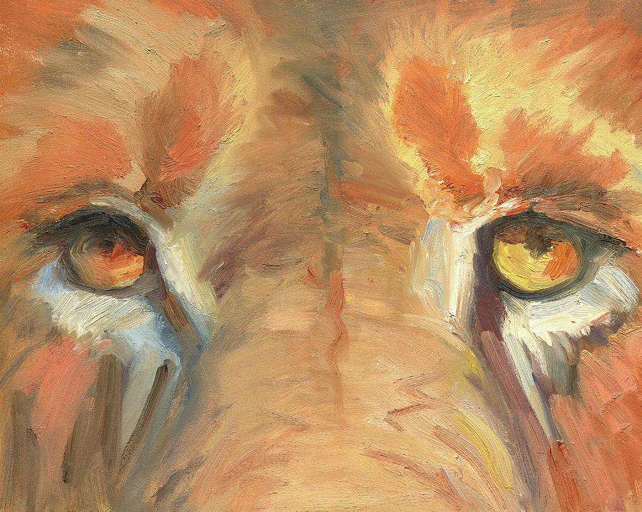 Lion by Mark Haglund