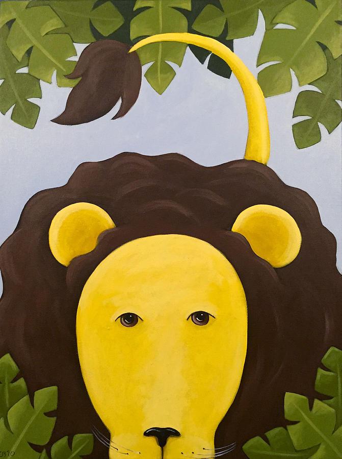 Lion Nursery Art Painting