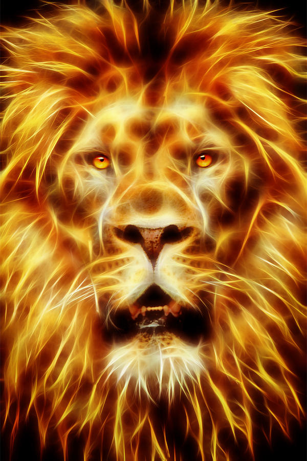 Lion Of Judah is a piece of digital artwork by James Park which was ...Quotes About Strength In Hard Times