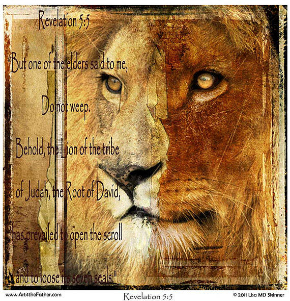 King Of Kings Digital Art - Lion Of The Tribe Of Judah by Lisa Marie Dole Skinner