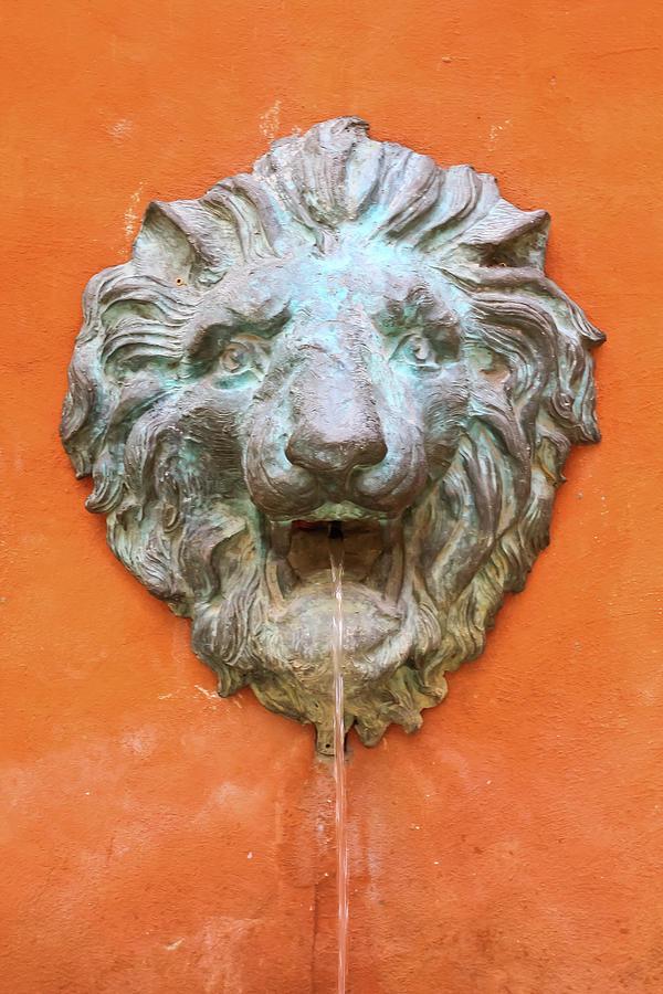 Palio Sculpture - Lion Sculpture by Prasert Chiangsakul