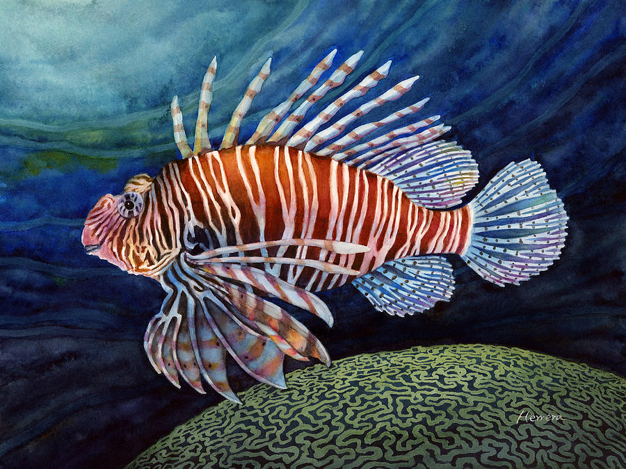 Lionfish Painting