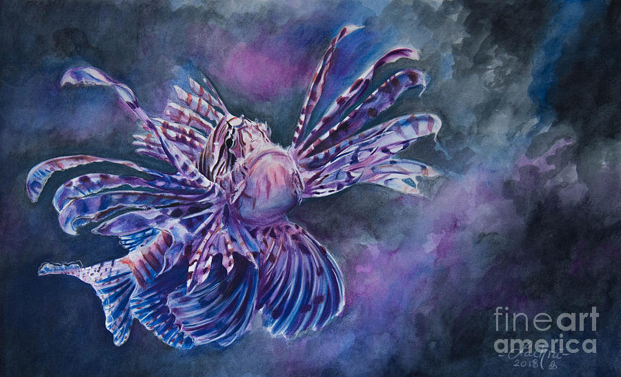 Lionfish by Lachri