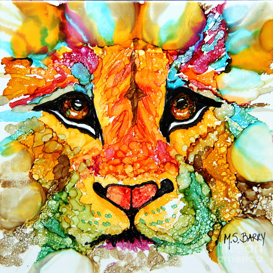 Lion's Head Gold by Maria Barry