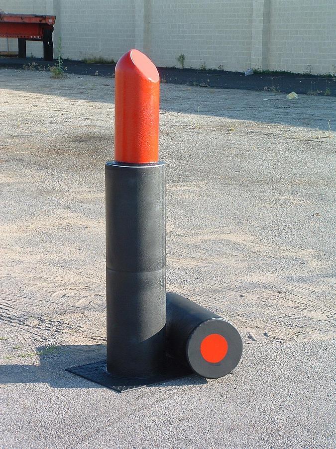 Lipstick Mixed Media by Buzz Ferrell