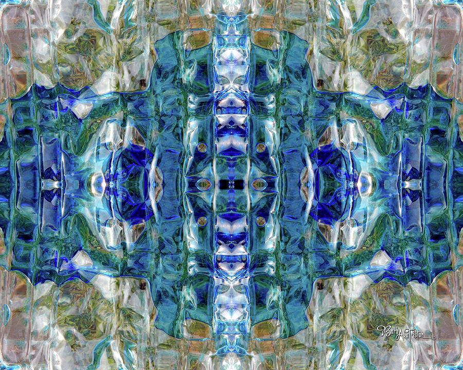 Creative Energy Digital Art - Liquid Abstract #0061-2 by Barbara Tristan