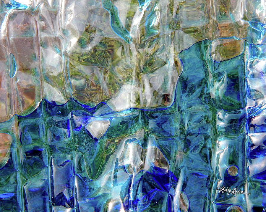 Creative Energy Photograph - Liquid Abstract #0061 by Barbara Tristan