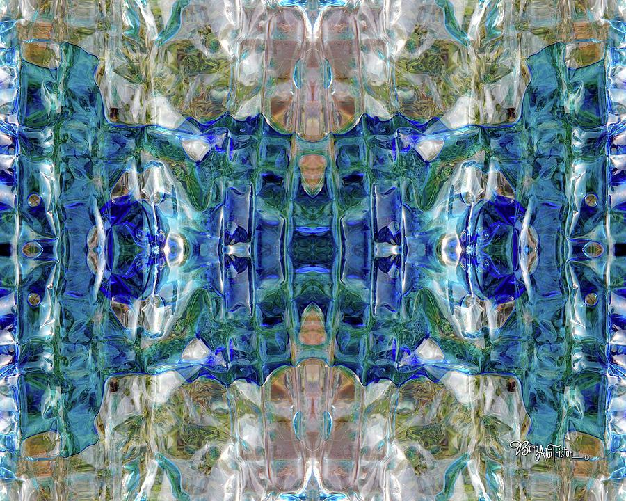Creative Energy Digital Art - Liquid Abstract #0061_1 by Barbara Tristan