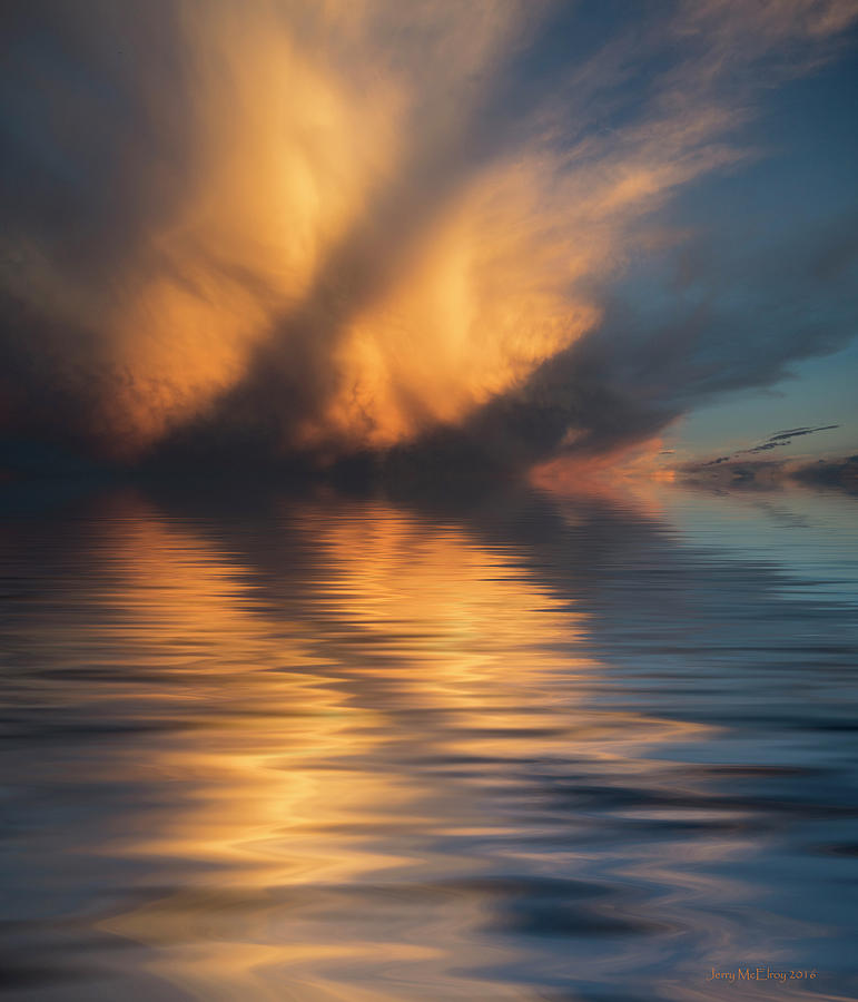 Art Photography Photograph - Liquid Cloud by Jerry McElroy