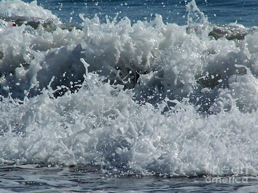 Ocean Photograph - Liquid Fingerprints by Brian  Commerford