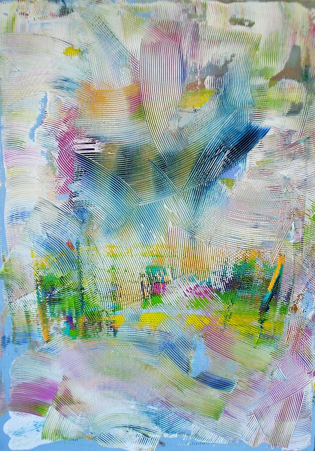 Abstract Painting - Liquid Room by Tina Erjavec