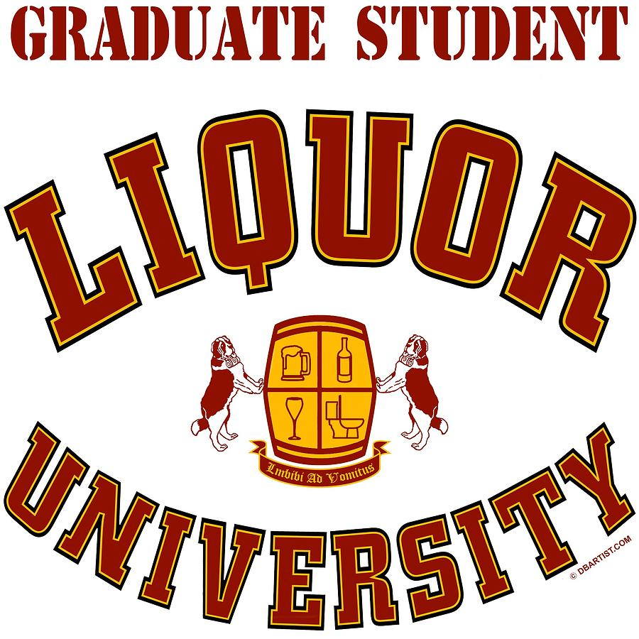 Liquor University Graduate Student by DB Artist