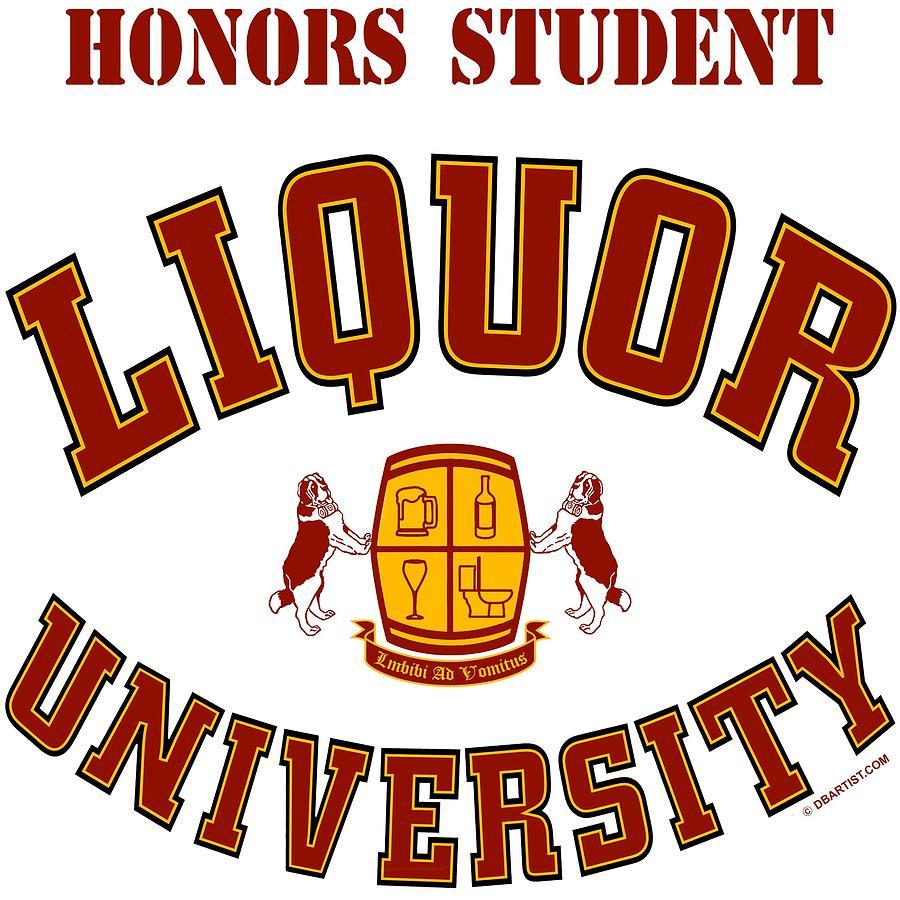 Liquor University Honors Student by DB Artist