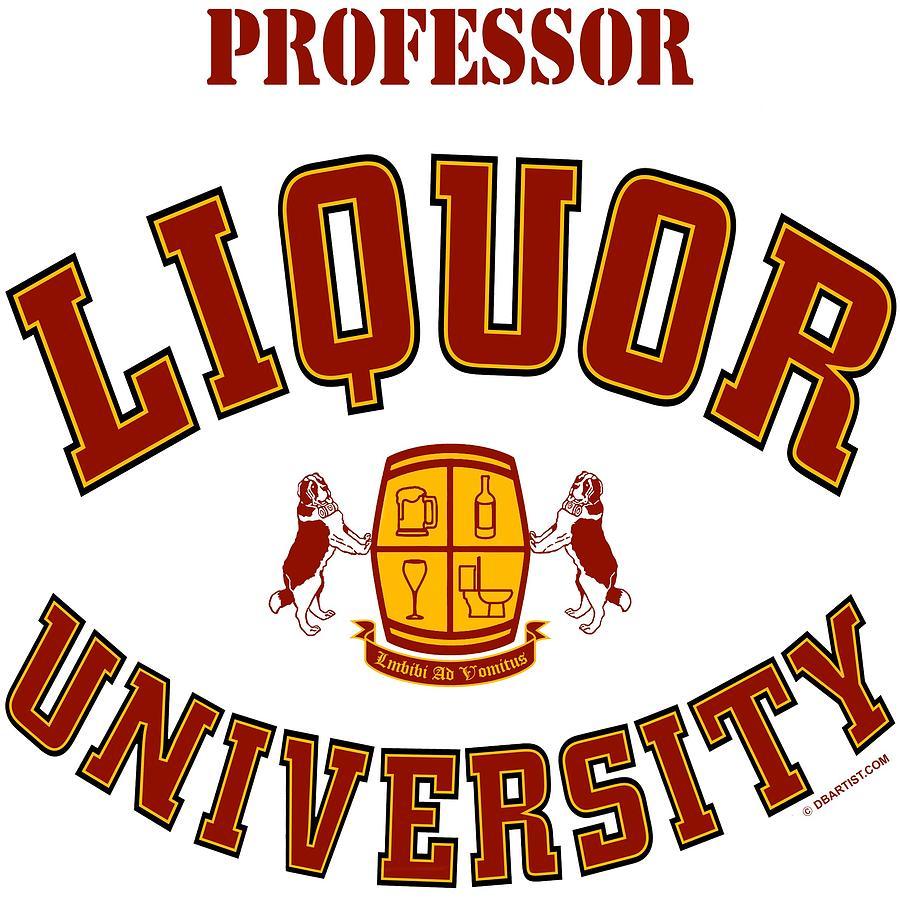 Liquor University Professor by DB Artist