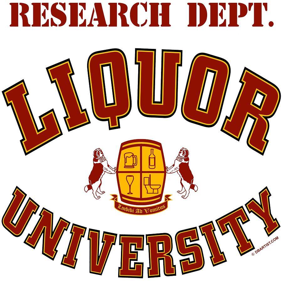 Liquor University Research Dept. by DB Artist