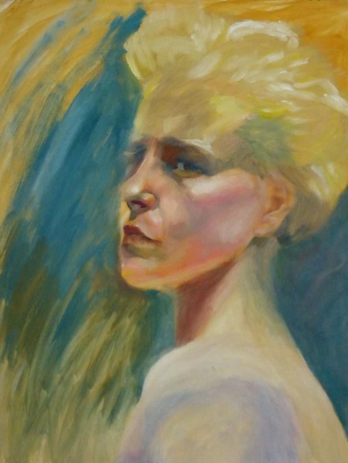Girl Painting - Lisa by Irena Jablonski